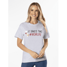 It Takes Two Mom Life T-Shirt - L