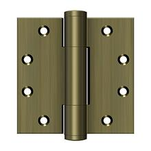 "4-1/2"" x 4-1/2"" 5.1mm Hinge - Antique Brass"