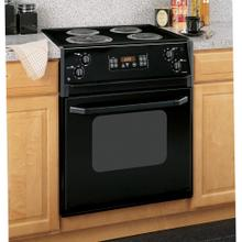 "GE Profile Series 27"" Drop-In Electric Range"