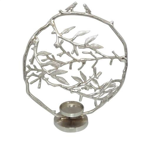 Crestview Collections - Giselle Large Birds & Branches Candleholder