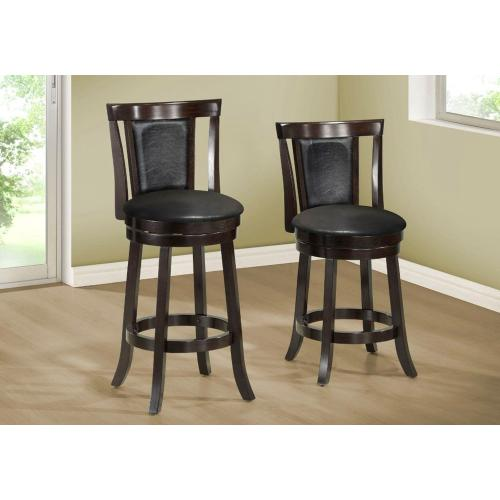 "BARSTOOL - 2PCS / 43""H / SWIVEL / ESPRESSO BAR HEIGHT"