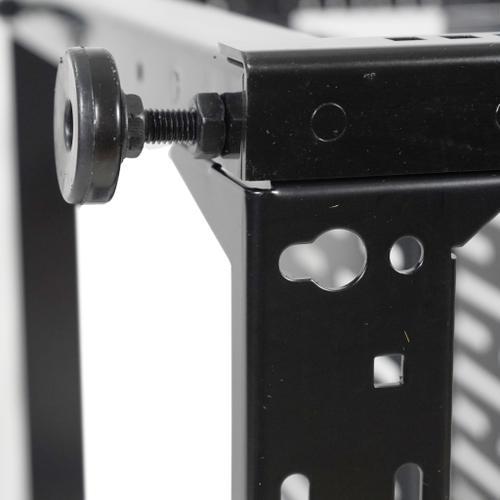 Sanus - 10U AV Rack Stackable Open Frame Network Rack