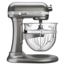 Professional 6500 Design™ Series 6 Quart Bowl-Lift Stand Mixer - Medallion Silver