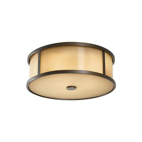 Dakota Flush Mount Heritage Bronze