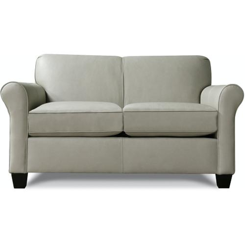 England Furniture - 4636LS Angie Leather Loveseat