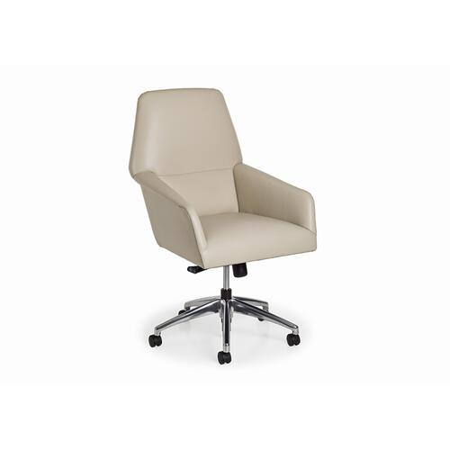 Liv Swivel Tilt Chair w/ pneuamatic lift and casters