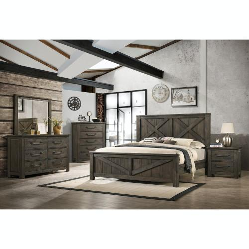 Maverick Bedroom - Queen Bed, Dresser, Mirror, Chest, and Night Stand