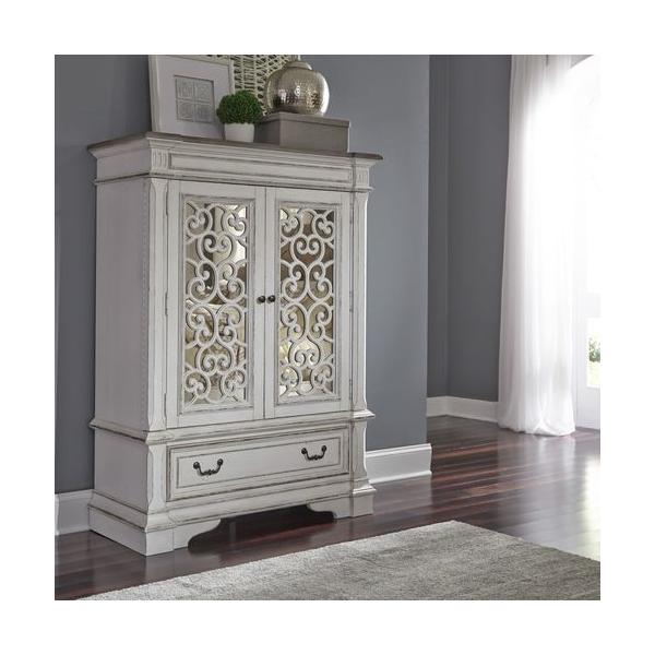 See Details - Mirrored Door Chest