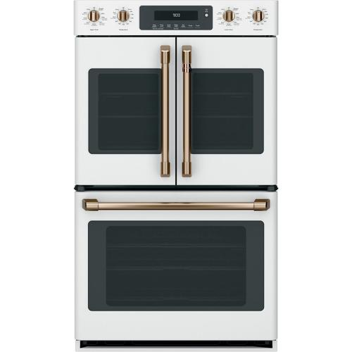 """Café™ 30"""" Smart French-Door, Double Wall Oven with Convection"""