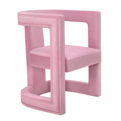 Ada Pink Velvet Chair