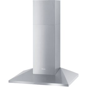 DA 398-7 Classic - Wall ventilation hood with energy-efficient LED lighting and backlit controls for easy use.