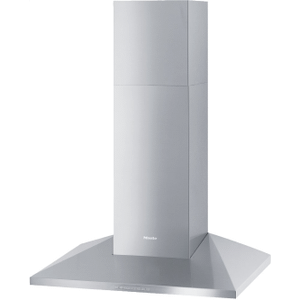 MieleDA 398-7 Classic - Wall ventilation hood with energy-efficient LED lighting and backlit controls for easy use.