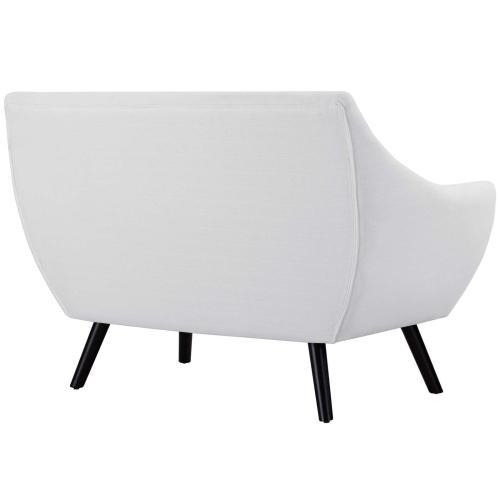 Modway - Allegory Loveseat in White