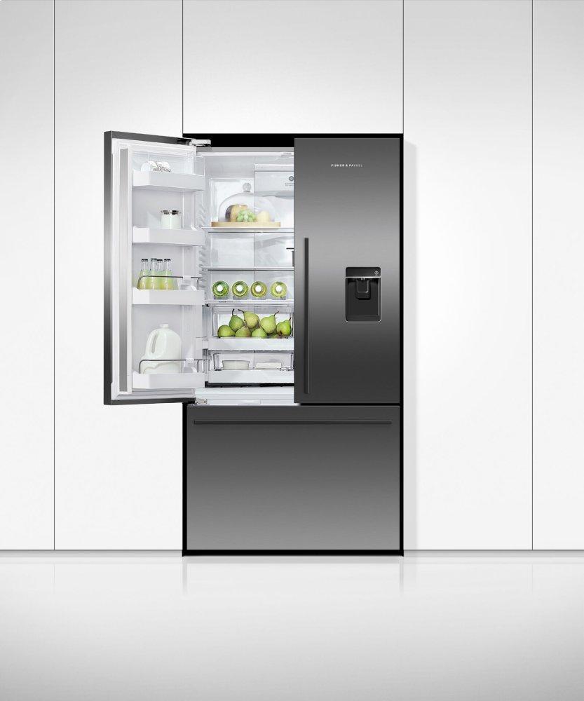 """Freestanding French Door Refrigerator Freezer, 36"""", 20.1 cu ft, Ice & Water Photo #5"""