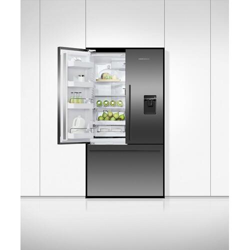 "Freestanding French Door Refrigerator Freezer, 36"", 20.1 cu ft, Ice & Water"