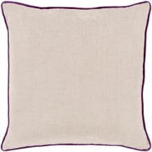 """View Product - Linen Piped LP-007 18""""H x 18""""W"""