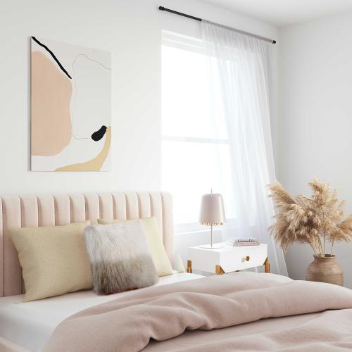 Tov Furniture - Tibetan Sheep Pillow White to Brown