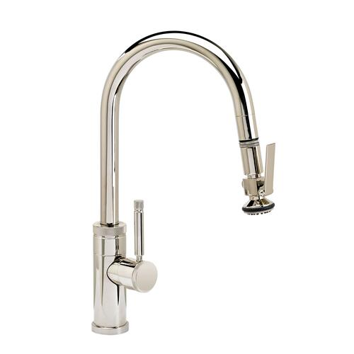 Industrial Prep Size PLP Pulldown Faucet - Angled Spout - 9940 - Waterstone Luxury Kitchen Faucets