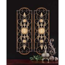 Micayla Metal Wall Panels, S/2