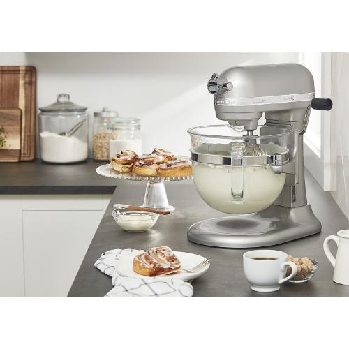 Professional 6500 Design™ Series 6 Quart Bowl-Lift Stand Mixer - Sugar Pearl Silver