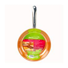 See Details - Brentwood BFP-328C 11-inch Non-Stick Induction Copper Frying Pan