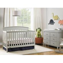 Fisher-Price Convertible Crib Misty Grey