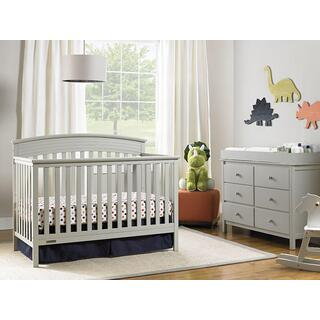 Fisher-Price Convertible Crib Misty Grey