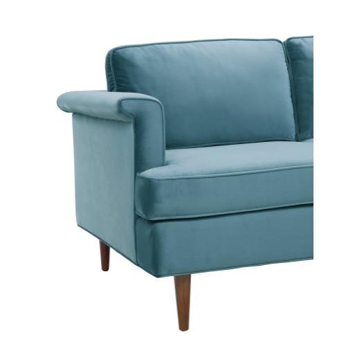 Tov Furniture - Porter Sea Blue Velvet Sofa
