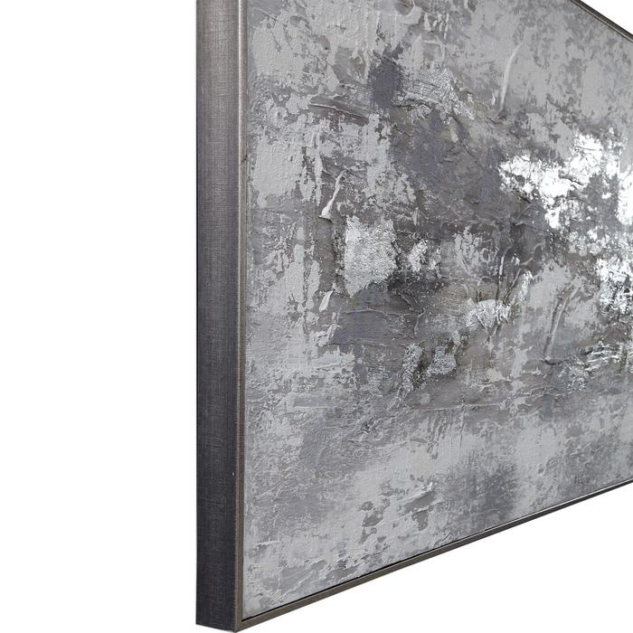 Uttermost - Weathered Stone Hand Painted Canvas