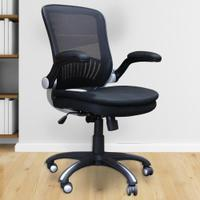 DC#301-BLK - DESK CHAIR Fabric Desk Chair Product Image