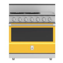 "36"" 4-Burner All Gas Range with 12"" Griddle - KRG Series - Sol"