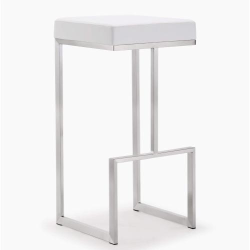 Product Image - Ferra White Steel Barstool (Set of 2)
