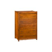 View Product - Columbia Valley 5 Drawer Chest - Provincial