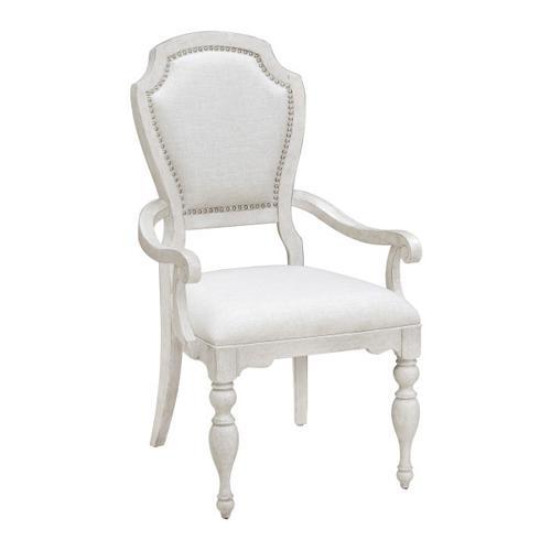 Pulaski Furniture - Glendale Estates Upholstered Dining Arm Chair