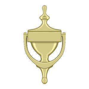 Deltana - Door Knocker, Victorian - Polished Brass
