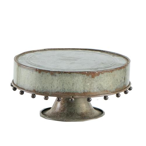 Plate with Glass Dome,Medium