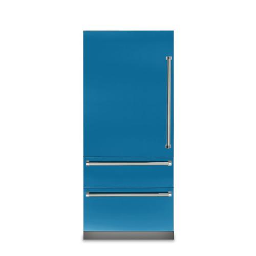 "Viking - 36"" Fully Integrated Bottom-Freezer Refrigerator - VBI7360W Viking 7 Series"
