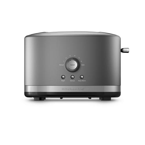 Gallery - 2-Slice Toaster with High Lift Lever - Contour Silver