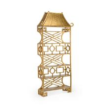 Chinoiserie Etagere - Gold