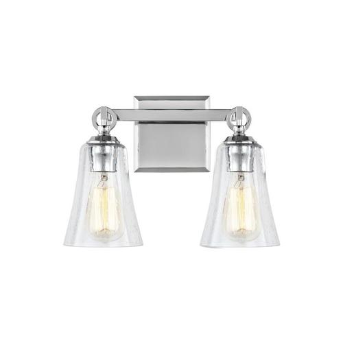 Monterro 2 - Light Vanity Burnished Brass