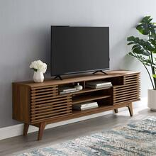 "Render 71"" Media Console TV Stand in Walnut"