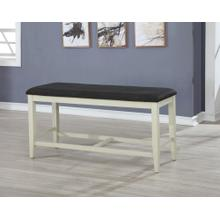 7799 Two-Tone Cushion Counter Height Bench
