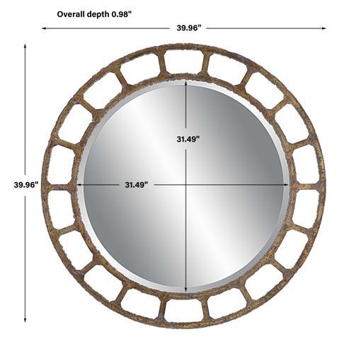 Uttermost - Darby Round Mirror