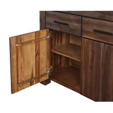 Meadow Sideboard with Brick Brown Finish