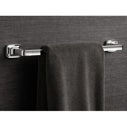 "Towel Bar, 12"" - Nickel Silver"