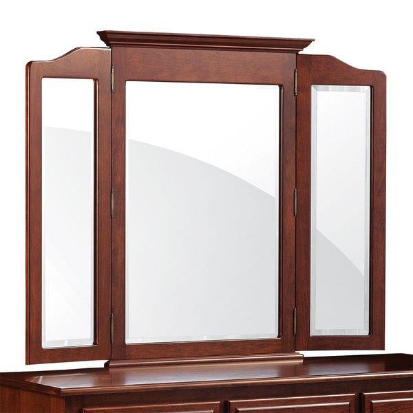 "See Details - Crown Tri-View Mirror, 63 ""w x 40 ""h"