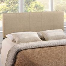 View Product - Oliver Queen Upholstered Fabric Headboard in Beige