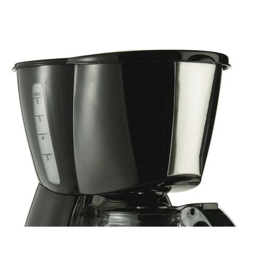 Petra - 4-Cup Coffee Maker (Black)
