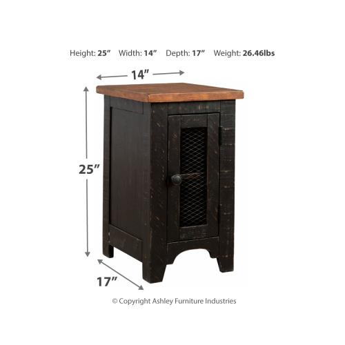 Valebeck Chair Side End Table