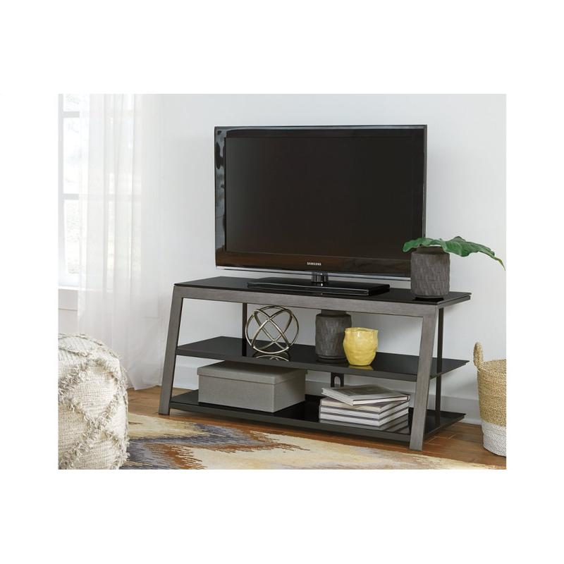 """View Product - Rollynx Black 48"""" TV Stand"""